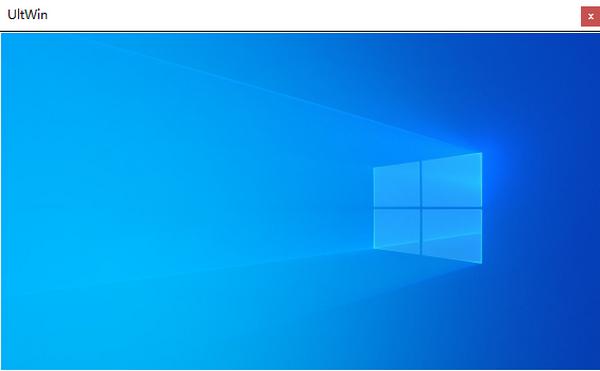 UltWin(桌面视图窗口管理器)