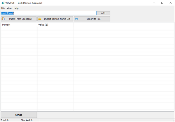 Bulk Domain Appraisal(域名价值评估软件)