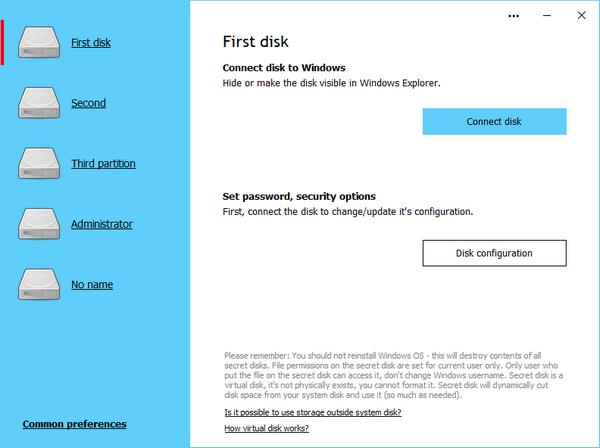 Secret Disk Professional(磁盘加密软件)
