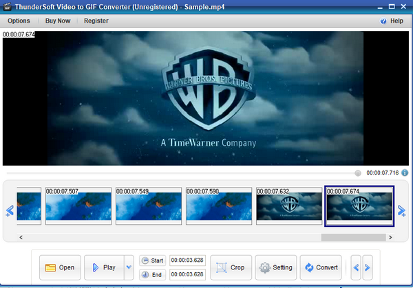 ThunderSoft Video to GIF Converter(视频转GIF)