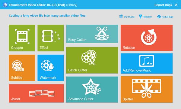 ThunderSoft Video Editor(视频编辑软件)下载