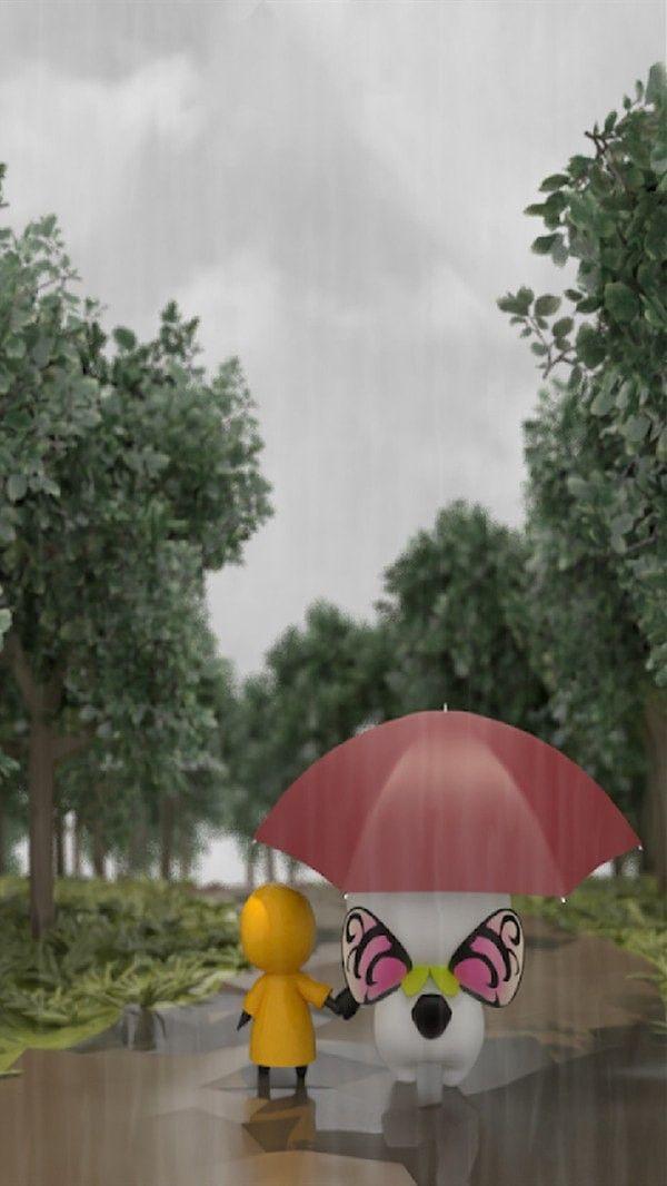 下雨的回家路