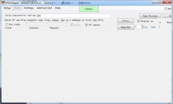 SebecTec IPTimelapse(流媒体软件)