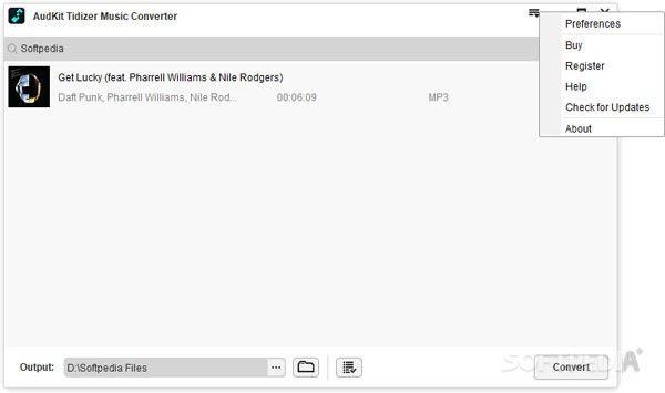 AudKit Tidizer Music Converter(音乐下载转换工具)下载