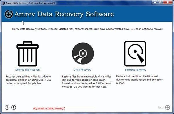 Amrev Data Recovery(数据恢复软件)下载