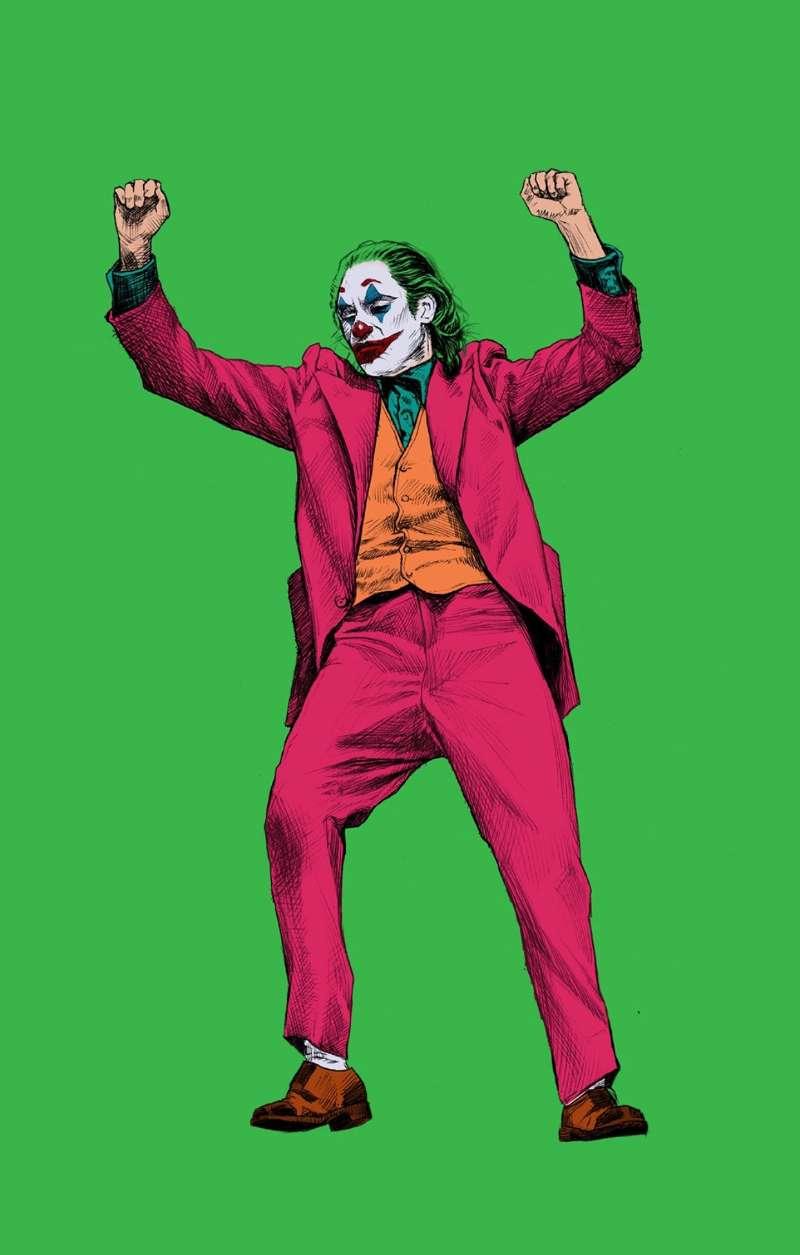 电影小丑JOKER手机壁纸分享 小丑JOKER高清人物壁纸合集