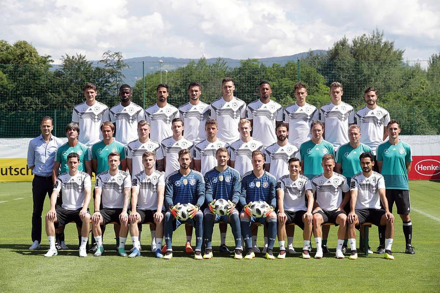 2018俄罗斯世界杯,32强全家福