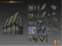 黑暗与光明新增32种建筑部件 黑暗与光明全种族各位置城堡建筑指南