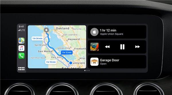苹果iOS 13 CarPlay车载有哪些功能?
