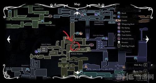 空洞骑士二段跳在哪里获得 空洞骑士二段跳技能获得位置