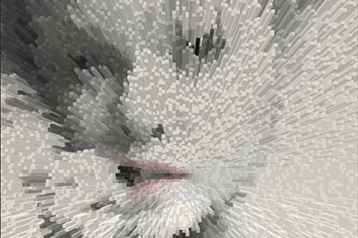 PS如何升级3D柱形人像效果?制作强烈3D效果的柱形图教程分享