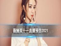 薇娅双十一直播预告2021 薇娅双十一直播什么时候开始
