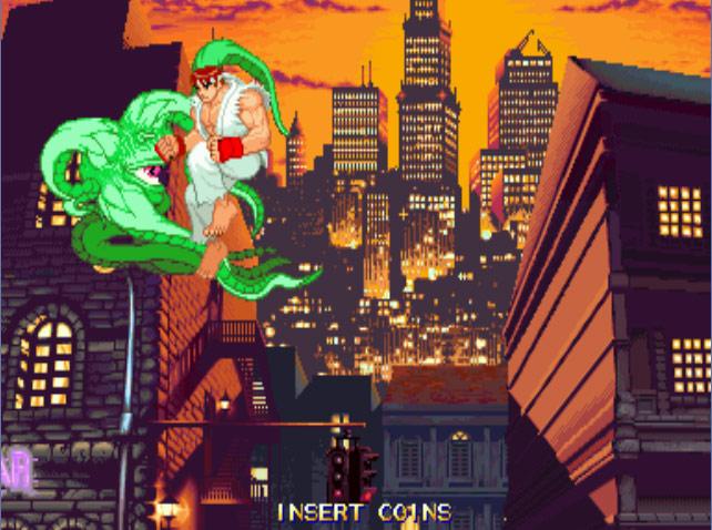 超级漫画英雄对街头霸王下载