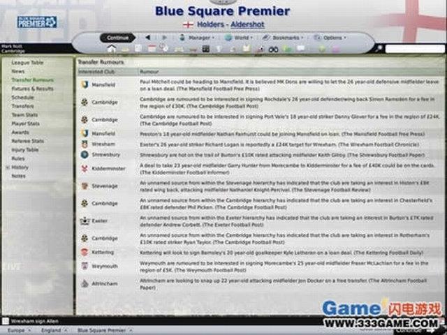 冠军足球经理2009下载
