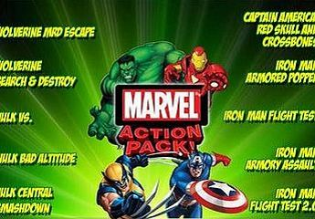 Marvel漫画动作游戏包
