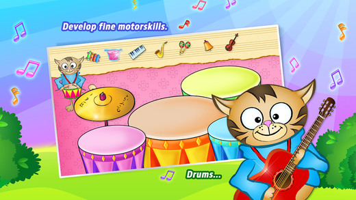 123 KIDS FUN MUSIC Lite软件截图1