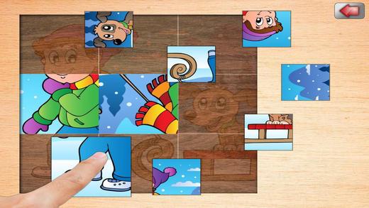 儿童拼图游戏软件截图0
