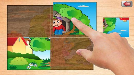 儿童拼图游戏软件截图1