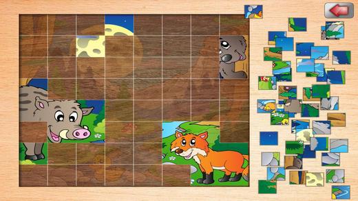 儿童拼图游戏软件截图2