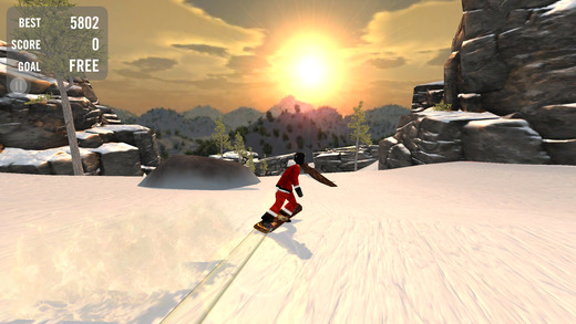 Crazy Snowboard Lite软件截图0