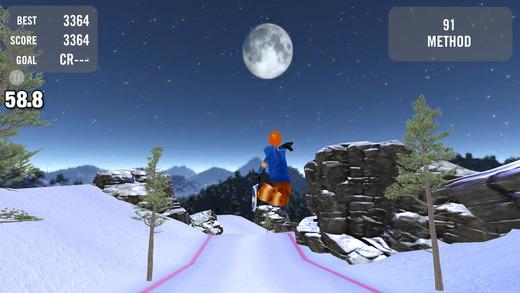 Crazy Snowboard Lite软件截图1