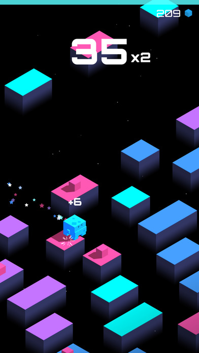Cube Jump(魔方跳跃)软件截图2