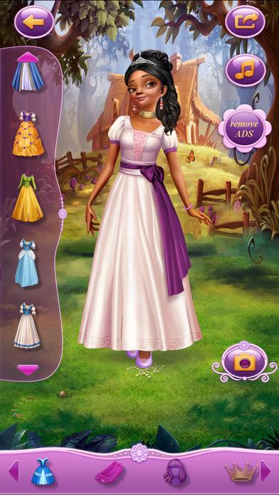Dress Up Princess Emma软件截图2