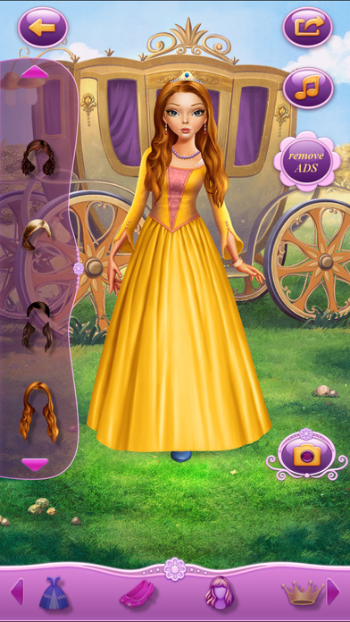 Dress Up Princess Anastasia软件截图0
