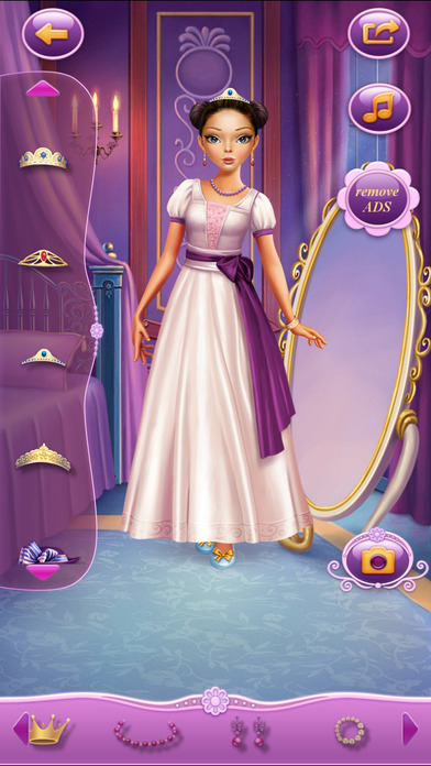 Dress Up Princess Anastasia软件截图2
