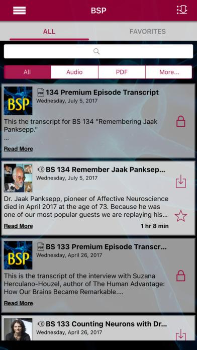 Brain Science App软件截图1