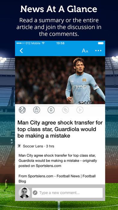 Manchester City News软件截图2