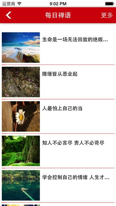 每日禅语软件截图1