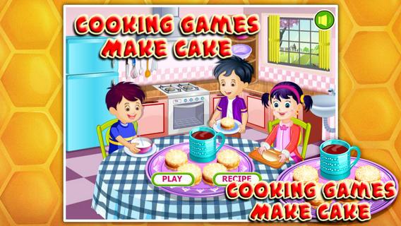 烹饪游戏:奶油蛋糕软件截图0