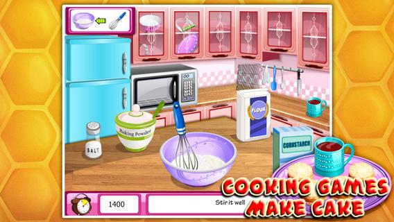 烹饪游戏:奶油蛋糕软件截图1