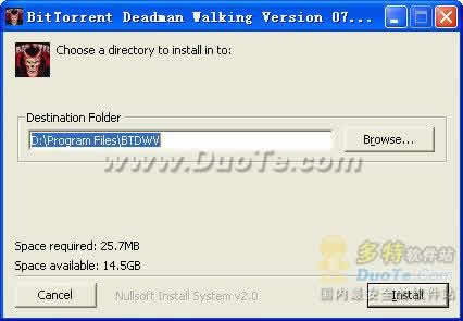 BitTorrent Deadman Walking下载