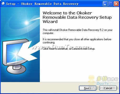 Okoker Removable Data Recovery下载