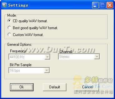 Crystal WMA To WAV Converter下载