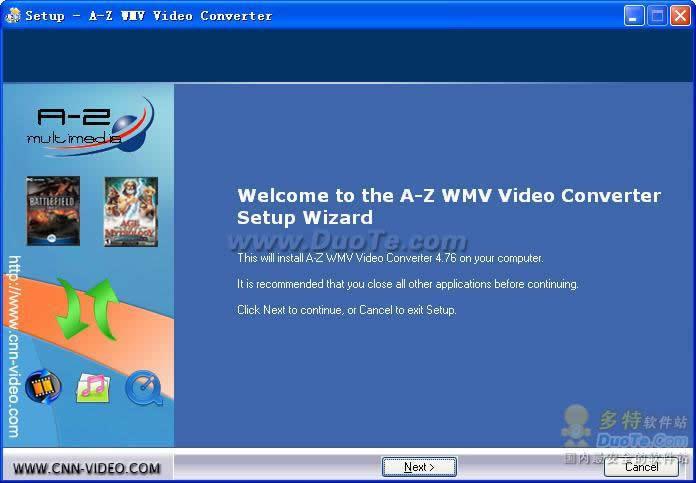 A-Z WMV Video Converter下载