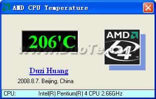 AMD CPU Temperature下载