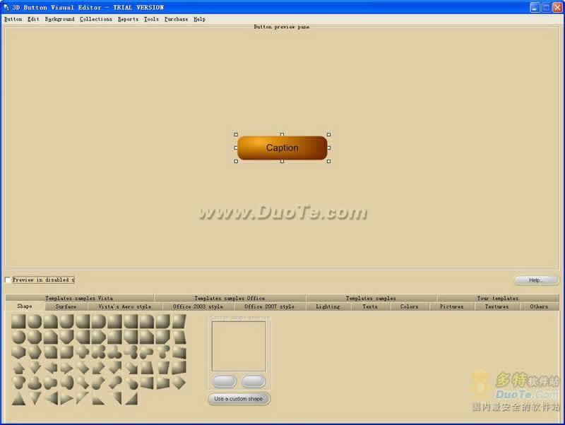 3D Button Visual Editor下载