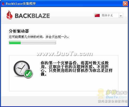BackBlaze下载