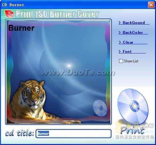 MediaSanta CD Burner下载