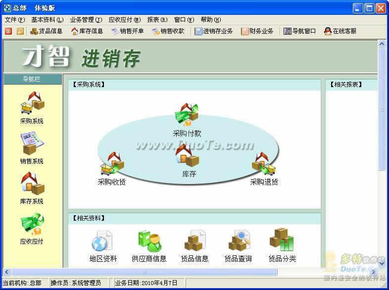 才智进销存多分支机构连锁管理系统(Access单机版)下载