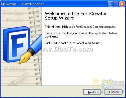 The Font Creator Program下载