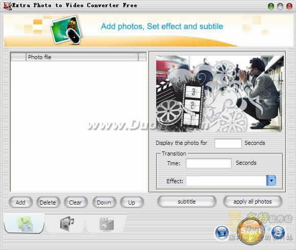 Extra Photo to Video Converter Free下载
