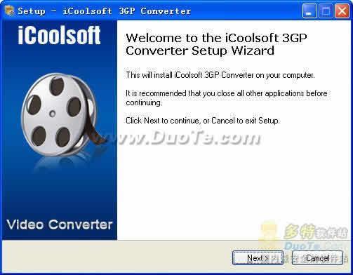 iCoolsoft 3GP Converter下载