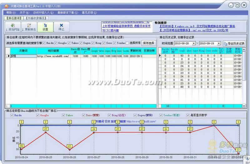 SEO关键词排名查询分析工具下载