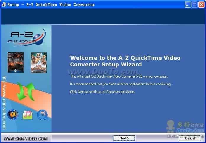 A-Z QuickTime Video Converter下载