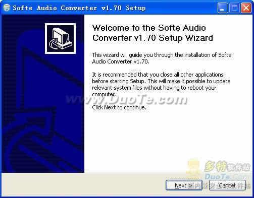 Softe Audio Converter下载