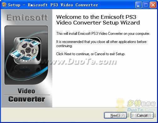 Emicsoft PS3 Video Converter下载